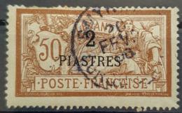 LEVANT - Canceled - YT 20 - 2P/50c - Levant (1885-1946)