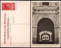 Bolivia 1943 CEFILCO TE 10 Serie Minería. Casa De Moneda De Potosi, Erigida En Noviembre De 1753 - Bolivia