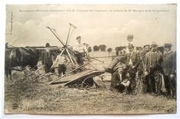 62 . Moissonneuse Milwaukee Fonctionnant Chez Monsieur Coyecques De Longuenesse ( Saint Omer ) - Autres Communes