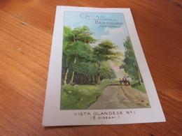 Postkaart ,Cacao Bensdorp - Chocolate