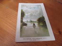Postkaart ,Cacao Bensdorp - Cioccolato
