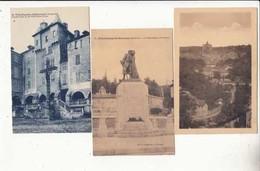 CPA France 12 - 3 Cartes Villefranche De Rouergue -  -  Achat à Prix Fixe - Villefranche De Rouergue