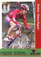 CYCLISME: CYCLISTE : PETER OESCHGER - Cyclisme