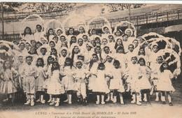 34/ Lunel  - Souvenir Des Fetes De Henri De Bornier 23 Jui,n 1912 - Lunel