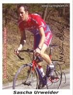 CYCLISME: CYCLISTE : SASCHA URWEIDER - Ciclismo