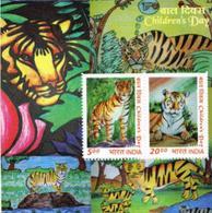 5X INDIA 2011 Children's Day; Miniature Sheet, MINT - India