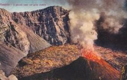 AP71 Vesuvio, Il Piccolo Cono Nel Gran Cratere - Italia