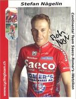 CYCLISME: CYCLISTE : STEFAN NAGELIN - Cyclisme