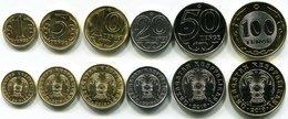 Kazakhstan - Set 6 Coins 1 5 10 20 50 100 Tenge 2019 UNC Lemberg-Zp - Kazakhstan