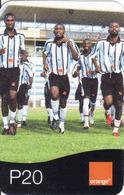 Botswana, Orange, Football - Botswana