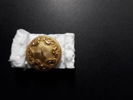 BOUTON   DIAMETRE 19 MM    GOLD WARRANTED  EXTRA GOLD SURFACE - Schmuck & Uhren