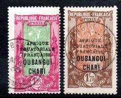 OUBANGHI - YT N° 80-82 - Cote: 28,00 € - Oblitérés