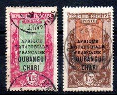 OUBANGHI - YT N° 80-82 - Cote: 28,00 € - Oubangui (1915-1936)