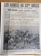 1904 L'INFANTERIE FRANÇAISE - LES FRANCS ARCHÈRES - SÉANCE DE CANNE - COMPAGNIE CYCLISTE - SPORT PLEIN AIR - Kranten