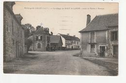 ENVIRONS DE LAILLE - LE VILLAGE DE BOUT DE LANDE - ROUTE DE NANTES A RENNES - 35 - France