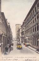 A619 Blankenberge La Rue De L Eglise Hotel D Hondt Daveloy - Blankenberge