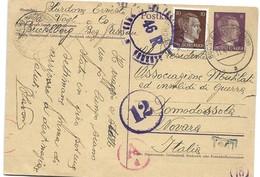 150 - 17 - Carte Envoyée De Buchelberg En Italie 1944 - Censure - WW2