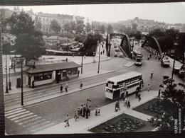 Berlin-Charlottenburg, Henriettenplatz, Strassenbahn, Tram,1954 - Charlottenburg