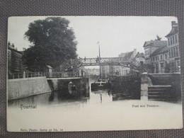 Tournai . Pont Aux Pommes . Dos 1900 . Nels - Tournai