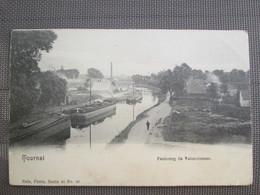 Tournai .  Faubourg De Valenciennes  . Dos 1900 . Nels - Tournai