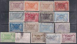 Portugal Timbres Colis Postaux N° 1 / 17 O Les 17 Valeurs Oblitérations Moyennes ( Les 1 à 3 Trace Charnière) Sinon TB - Oblitérés