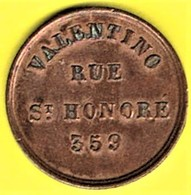 Nécessité - Jeton De Bal - Salle Valentino - Paris 1er - Monedas / De Necesidad