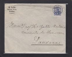 E. LEITZ,OPTISCHE WERKE ,WETZLAR. - Lettres & Documents