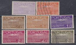 Portugal Timbres Colis Postaux N° 18 / 25 X Les 8 Valeurs  Trace Charnière ( Les 22 Et 25 Oblitérés) Sinon TB - Neufs