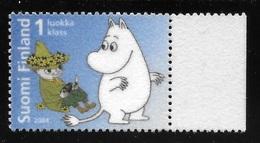 Finland 2004 Snufkin And Moomin Troll Cartoon MNH - Finland