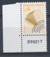 Frankrijk/France/Frankreich/Francia 1992 Mi: 2872A Yt: Preo 214 (PF/MNH/Neuf Sans Ch/**)(4645) - Preobliterati