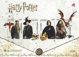 PORTUGAL - Harry Potter 2019 - Souvenir Sheet - Unused Stamps