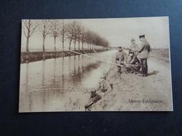 Guerre ( 499 ) 1914 - 1918  Armée Soldat Allemand - Oorlog Leger Duitse ( Deutsche ) Soldaten Krieg - Pêche à La Ligne - Guerre 1914-18