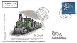 12.5.1992  -  DE JANGLI  Cercle Philatlétique Bettembourg - Cartes Maximum