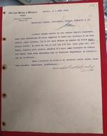 DOCUMENTO  Dia Histórico Implantação Da Republica 5 OUTUBRO 1910 VON DER BECKE MARSILY - Portugal