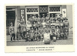 Les Joyeux Bigophones Du Tuquet. Groupe < Rose -Marie>. - Mouscron - Moeskroen