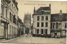 CPA AIRE-sur-la-LYS - Place Du Cassel (172427) - Aire Sur La Lys