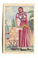 Telas De Mexico, Mexico City - Fabric Manufacturers - Old Postcard Featuring Chiapas Woman - Mexique