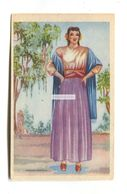 Telas De Mexico, Mexico City - Fabric Manufacturers - Old Postcard Featuring Zapoteca Woman - Mexico