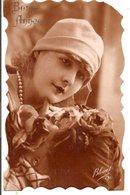 L60A271 - Bonne Année - Portrait D'une Jolie Jeune Femme  - Bleuet N°731 - New Year