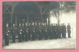 57 - DIEUZE - Carte Photo - Foto - Soldats Allemands - Poste De Garde - Caserne - Dieuze