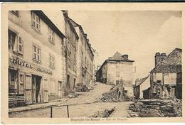 Lozere, Bagnols Les Bains : Rue De L'Hospice - France