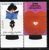 Finland 2003 Europa Posters By Lasse Hietala MNH - Finland