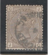 GB - 4 Pence - Yvert N° 64 - Planche 18 (1880-1883) - Used Stamps