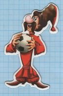 UKRAINE / Flexible Magnet / Football Cartoon Cossack . - Sport