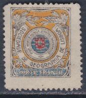 Portugal Timbres De Franchise N° 18 (.) Société De Géographie Noir, Brun, Bleu Et Rouge Neuf Sans Gomme Sinon TB - Franchise