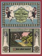 Allemagne 1 Notgeld  75 Pfenning  Stadt Sellin A Rügen  (RARE) Dans L 'état N °4627 - Verzamelingen