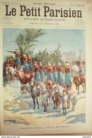 LE PETIT PARISIEN-1901-671-SPAHIS ALGERIE-EVASION MAISON CENTRALE FONTEVRAULT (49) - Newspapers