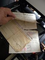 WW2 Fiche D'identité + Ordre De Mission + Attestation D'évadé 1942 - Documents Historiques