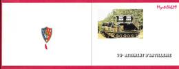 Carte De Voeux - 74ème Régiment D'Artillerie - - Militaria