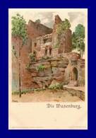 Die Wasenburg  Par F Hoch   ( Scan Recto Et Verso ) - Other Municipalities